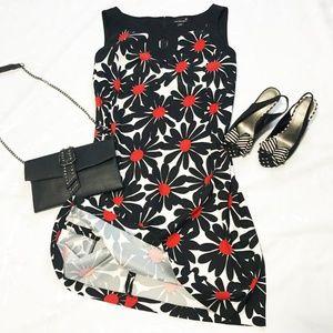 Laura Plus sleeveless floral print dress
